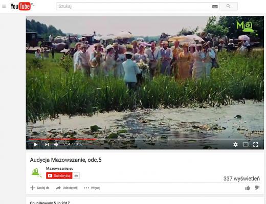 Film promujący - Mazowszanie
